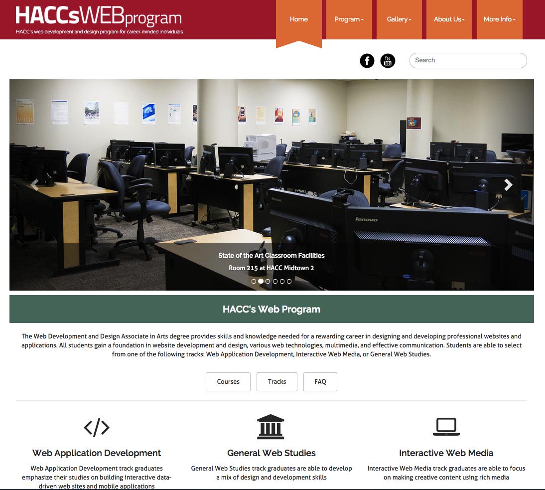 HACC's Web Program