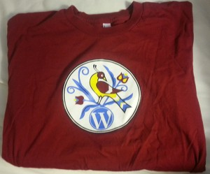 t-shirt from WordCamp Lancaster 2014